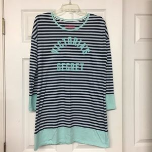 Victoria's Secret spell out sleep shirt night gown